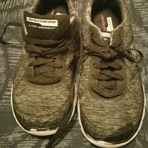 skechers women's memory foam sneakers